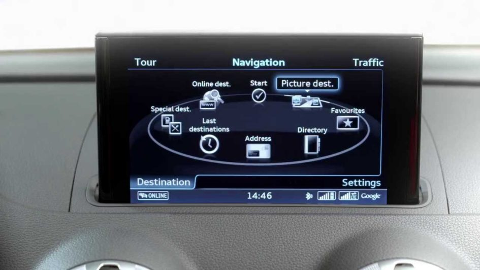 Audi Connect Dashboard