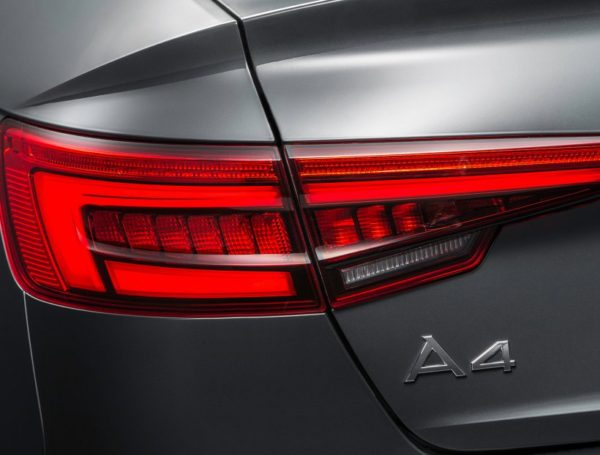 Exterior of the 2017 Audi A4